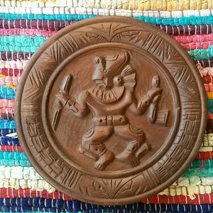 Other - Hand carved Guatemalan wooden decor